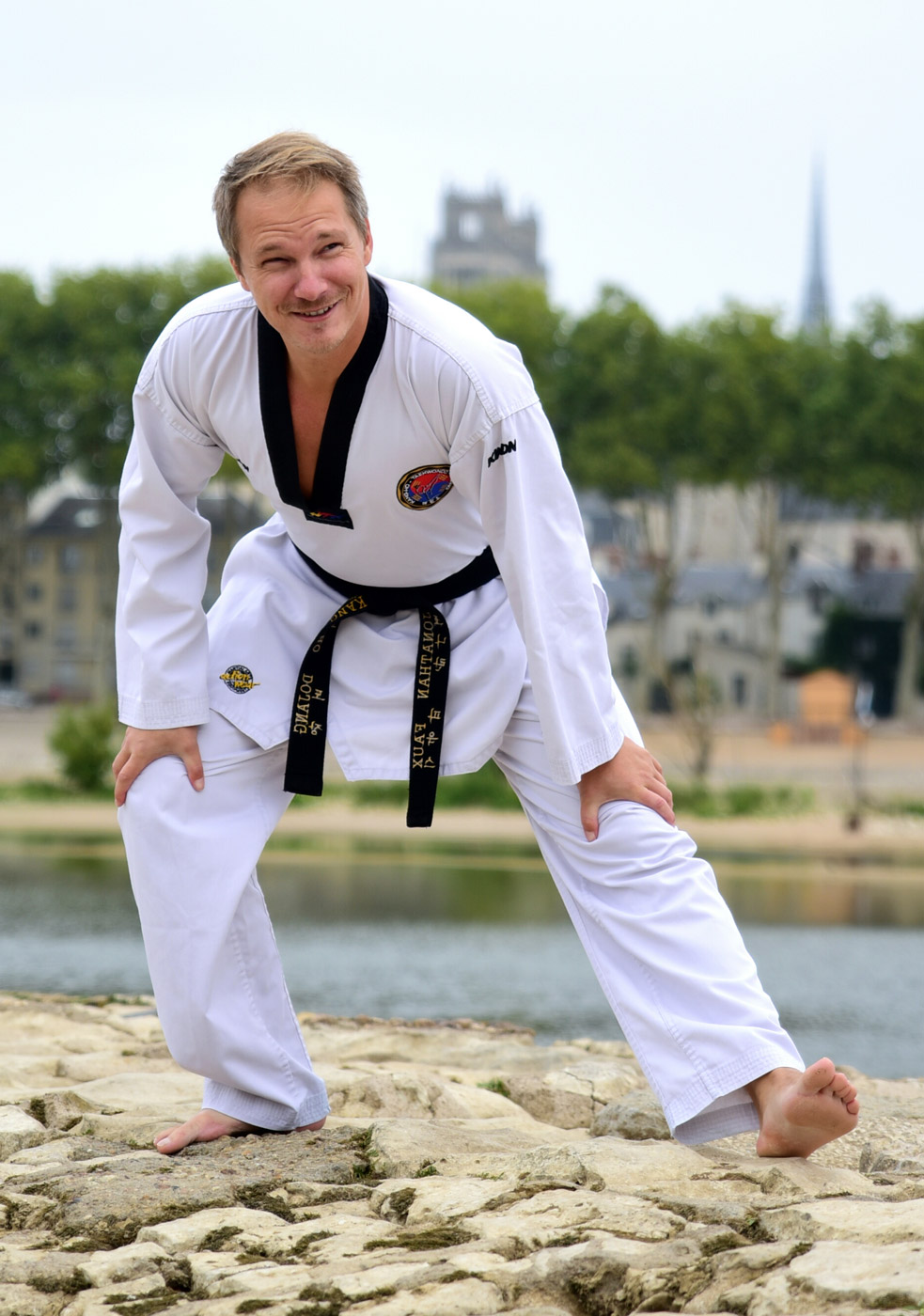 Kang-Ho instructeur Jonathan Faux
