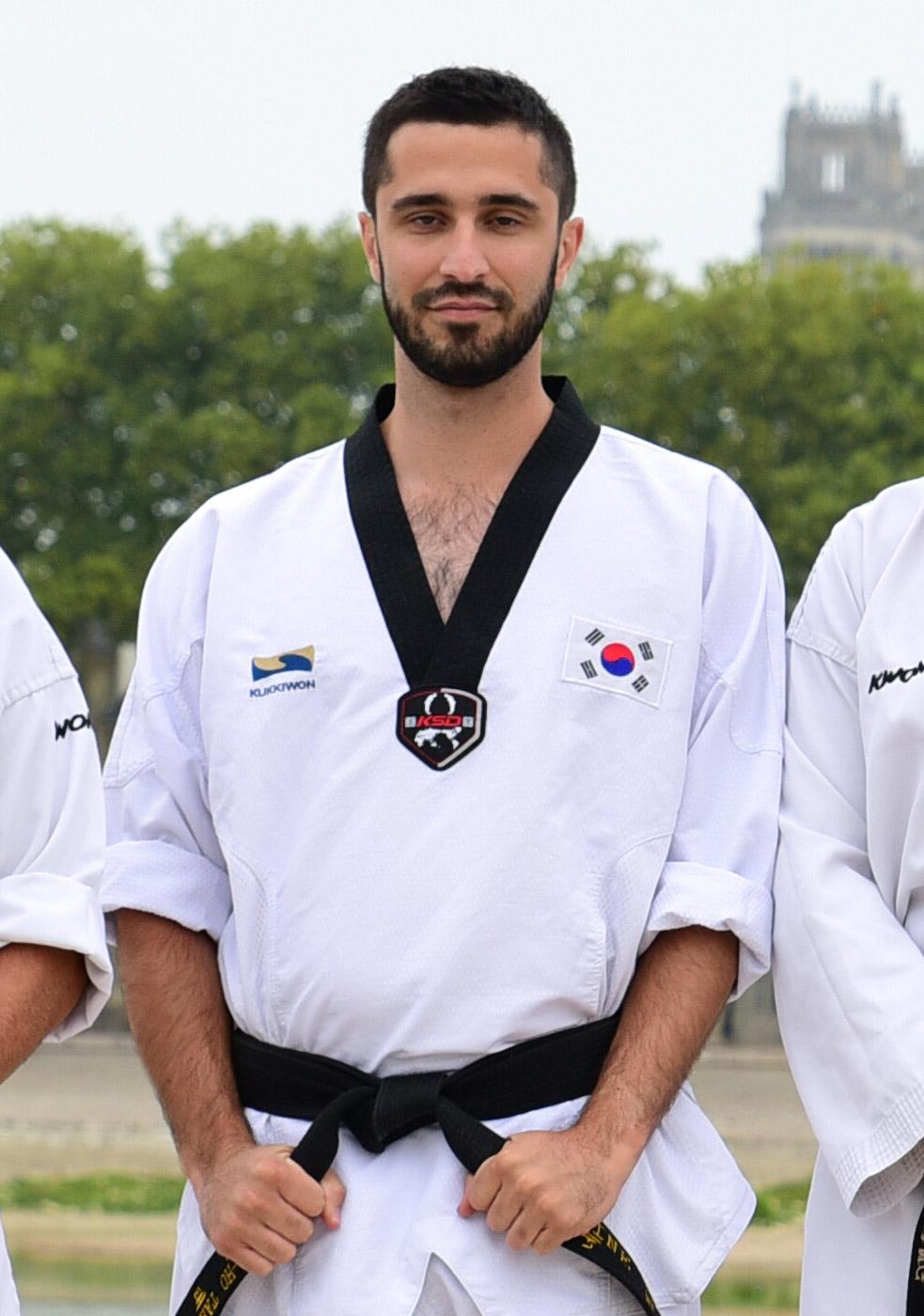 Kang-Ho ceinture noire Antoine Leguy