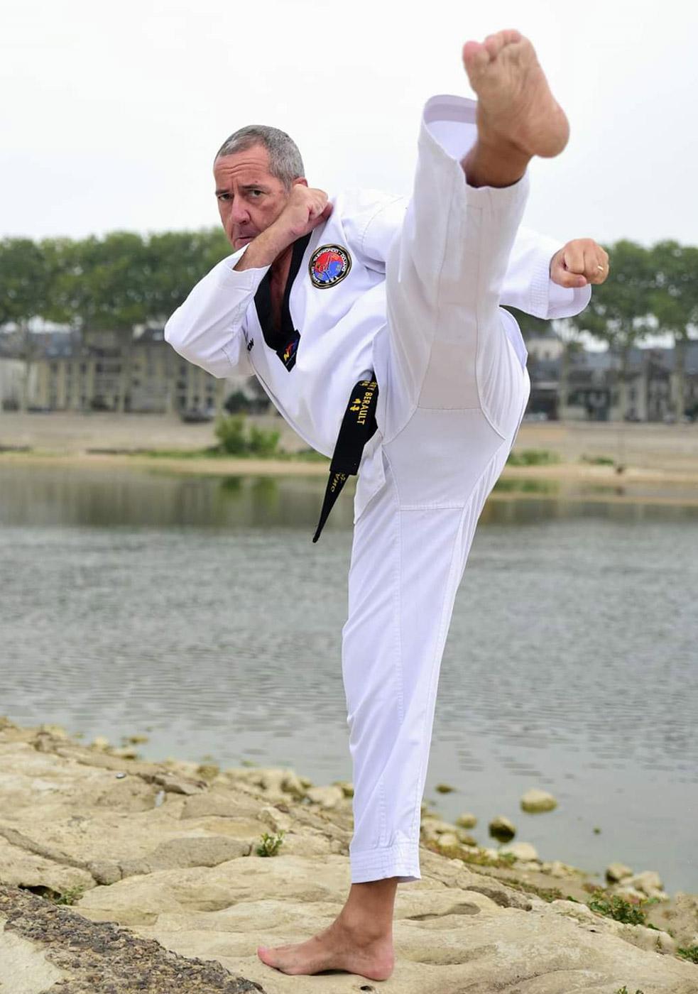Kang-Ho ceinture noire Thierry Berault