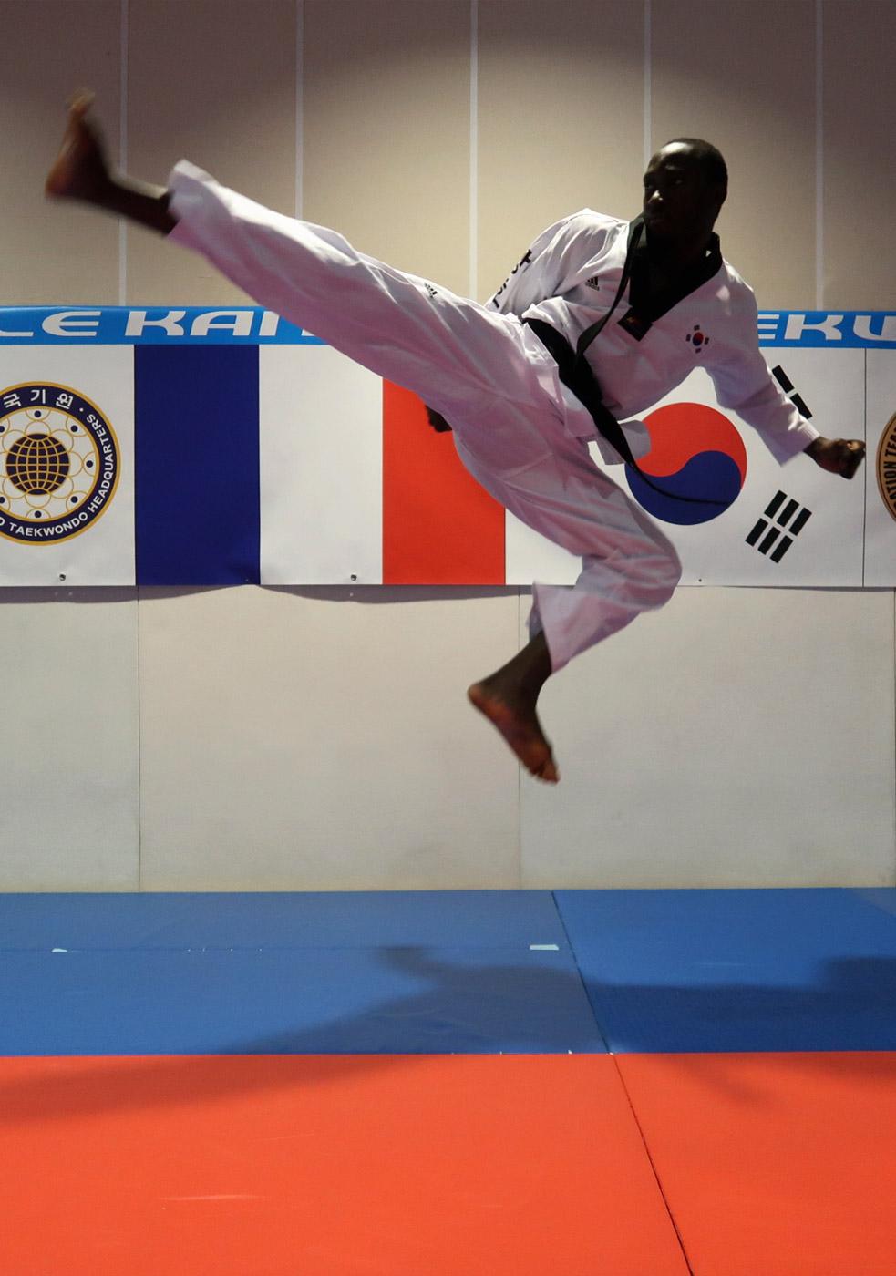 Kang-Ho instructeur Michel Tonguino