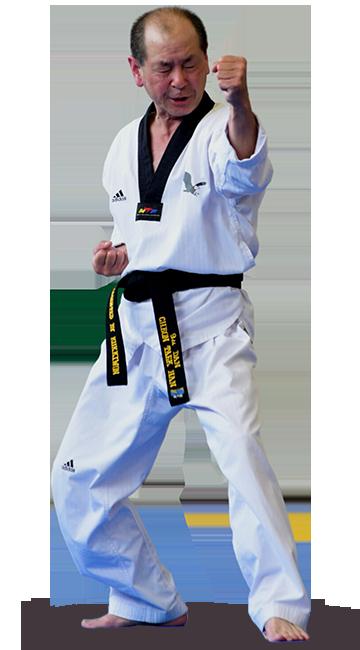 Maître Han Chun Tec, 9ème dan de Taekwondo