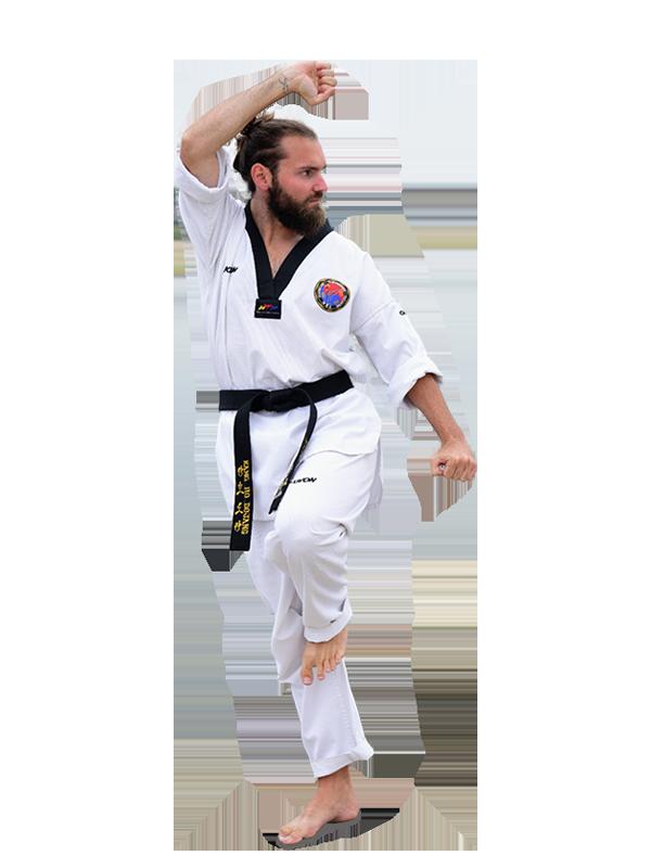 Mathieu Chesneau, 3ème Dan de Taekwondo
