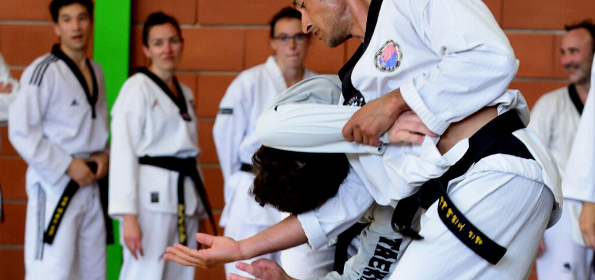 Le Hoshinsul, techniques de self-défense