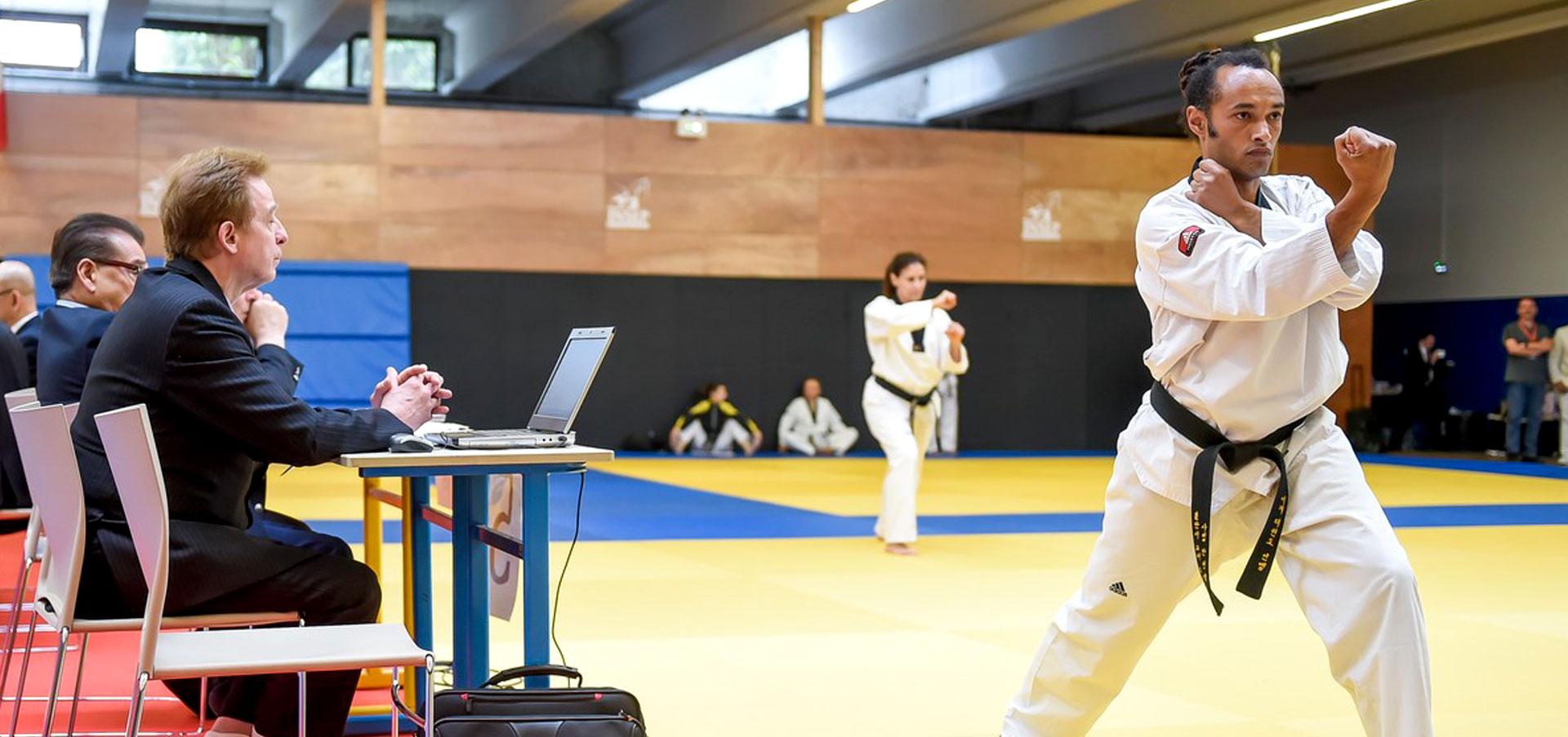 Kang-Ho, Maître Nicolas Félix, passage de grade 6ème Dan