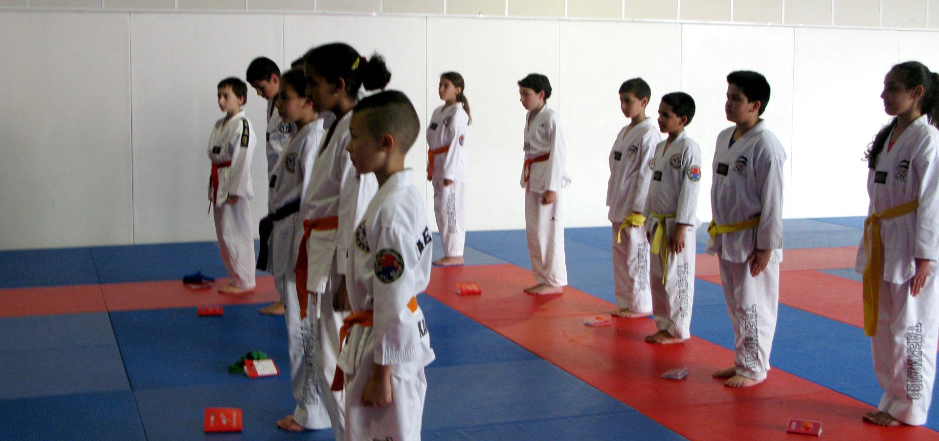 Taekwondo, passage de grade