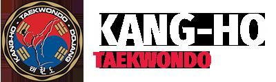 Kang-Ho Taekwondo logo blanc
